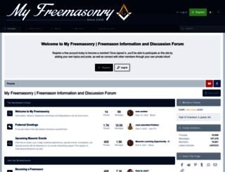 myfreemasonry.com screenshot