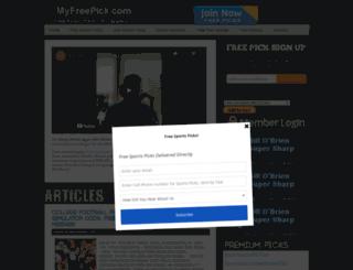 myfreepick.com screenshot