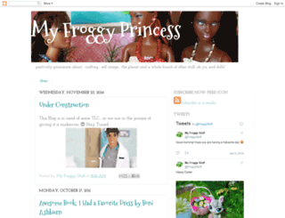 myfroggyprincess.blogspot.com screenshot