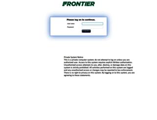 myfrontier.org screenshot