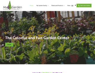 mygardennursery.com screenshot
