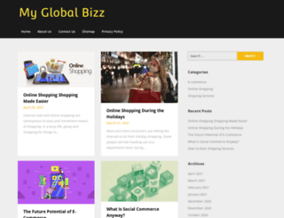 myglobalbizz.com screenshot