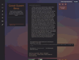 mygoodqueenbess.tumblr.com screenshot