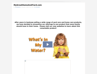 mygreathomeandyard.com screenshot