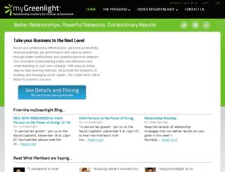 mygreenlight.com screenshot