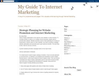 myguidetointernetmarketing.blogspot.com screenshot