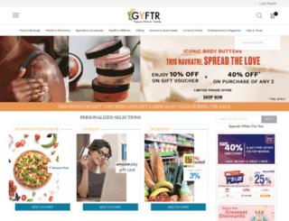 mygyftr.com screenshot