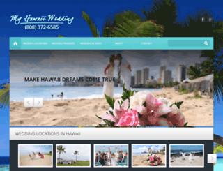myhawaiiwedding.com screenshot