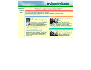 myhealthguide.com screenshot