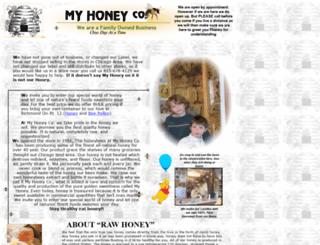 myhoneyco.com screenshot