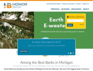 myhonorbank.com screenshot