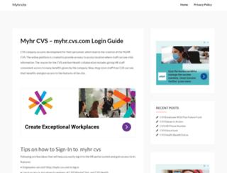 myhrsite.net screenshot