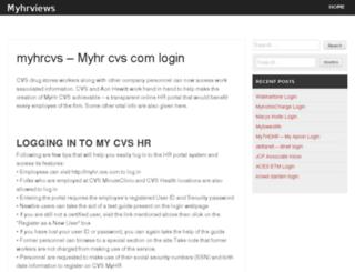 myhrviews.com screenshot