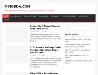 myjobda.com screenshot