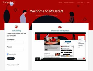 myjumpstart.org screenshot