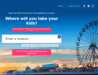 mykidsdayout.co.uk screenshot