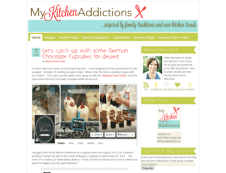 mykitchenaddictions.com screenshot