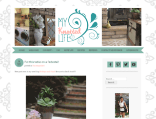 myknottedlife.com screenshot