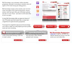 myknowledge.com.au screenshot