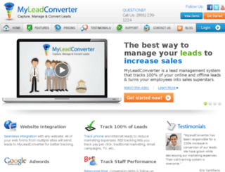 myleadconverter.com screenshot