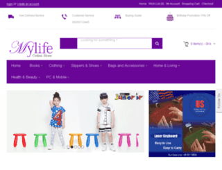 mylife.com.mm screenshot