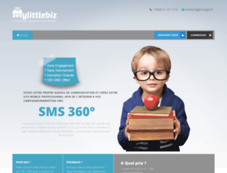 mylittlebiz.fr screenshot