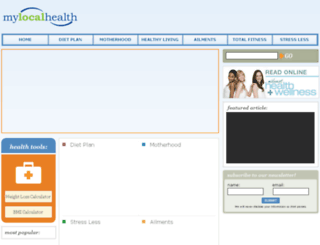 mylocalhealth.com screenshot