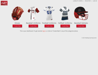 mylocker.rawlings.com screenshot