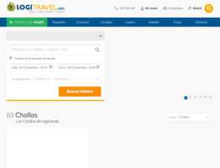 mylogitravel.com screenshot