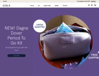mylola.com screenshot