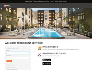 mymaac.net screenshot