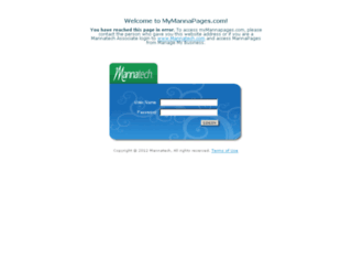 mymannapages.com screenshot
