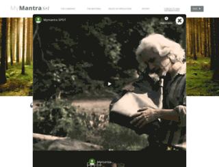 mymantrasrl.com screenshot
