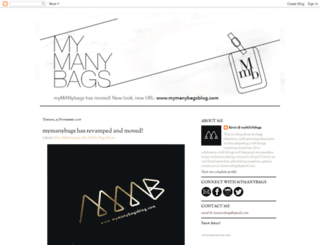mymanybags.blogspot.sg screenshot