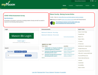 mymasonportal.gmu.edu screenshot