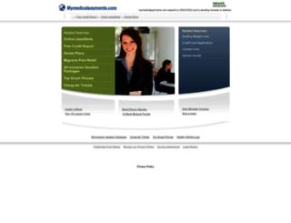 mymedicalpayments.com screenshot