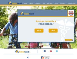 mymedicalrecords.com screenshot