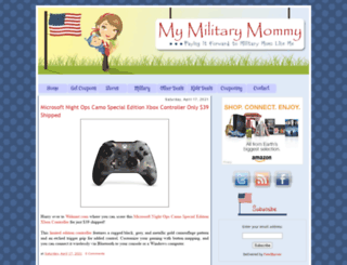 mymilitarymommy.com screenshot
