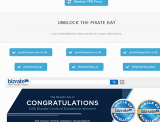 the pirate bay proxy unblock