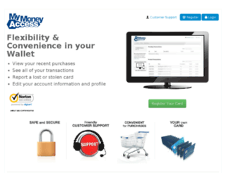 mymoneyaccess.com screenshot