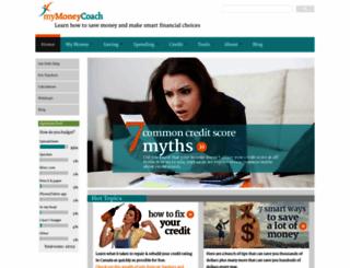 mymoneycoach.ca screenshot