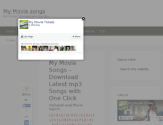 mymoviesongs.com screenshot