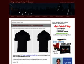 mymusiccitymommy.com screenshot