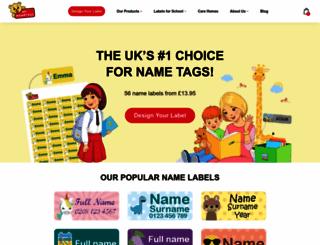 mynametags.com screenshot
