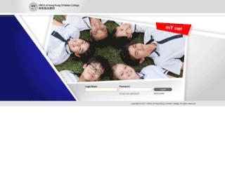 mynet.ymcacc.edu.hk screenshot