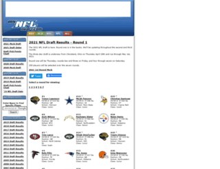 mynfldraft.com screenshot