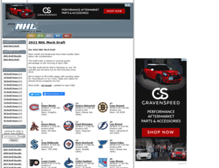 mynhldraft.com screenshot