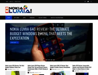 mynokialumia.com screenshot