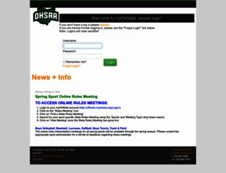 myohsaa.org screenshot