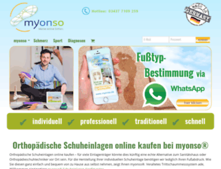 myonso.de screenshot